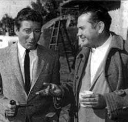 Efrem Zimbalist Jr. and Montgomery Pittman