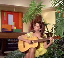 Claudine Longet in The Party