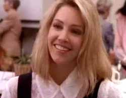 Heather Locklear in the credit sequence for Melrose Place