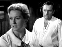 With Burton in Night of the Iguana