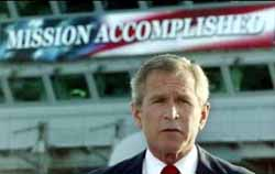 'Mission Accomplished'