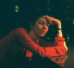 Sofia Copplola during the filming of Lost in Translation