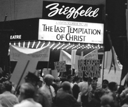 A protest of The Last Temptation of Christ