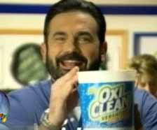 Billy Mays pitching OxiClean