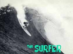 The first issue of the first surfing magazine, 1960