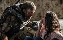 Sharlto Copley and Alice Braga