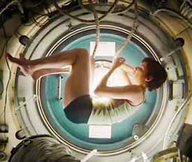Sandra Bullock as Dr. Stone in Gravity