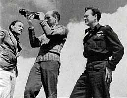 Jack Cardiff, Michael Powell, and David Niven