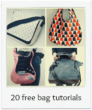 20 Free bag tutorials