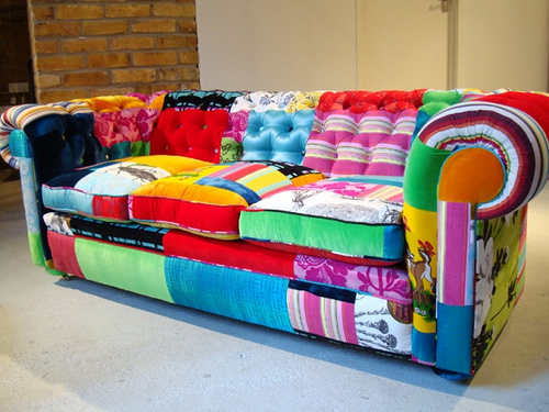 Patchwork Sofa Inspiration