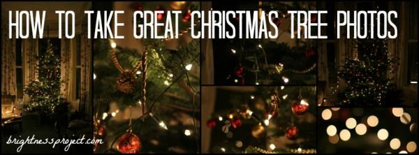How to take great Christmas tree photos