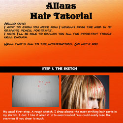 Hair Tutorial by SilentDeath