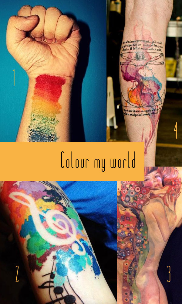 Colour Tattoos