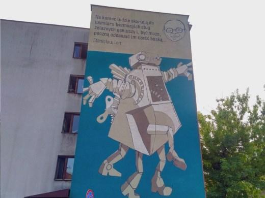 Stanislaw Lem Mural