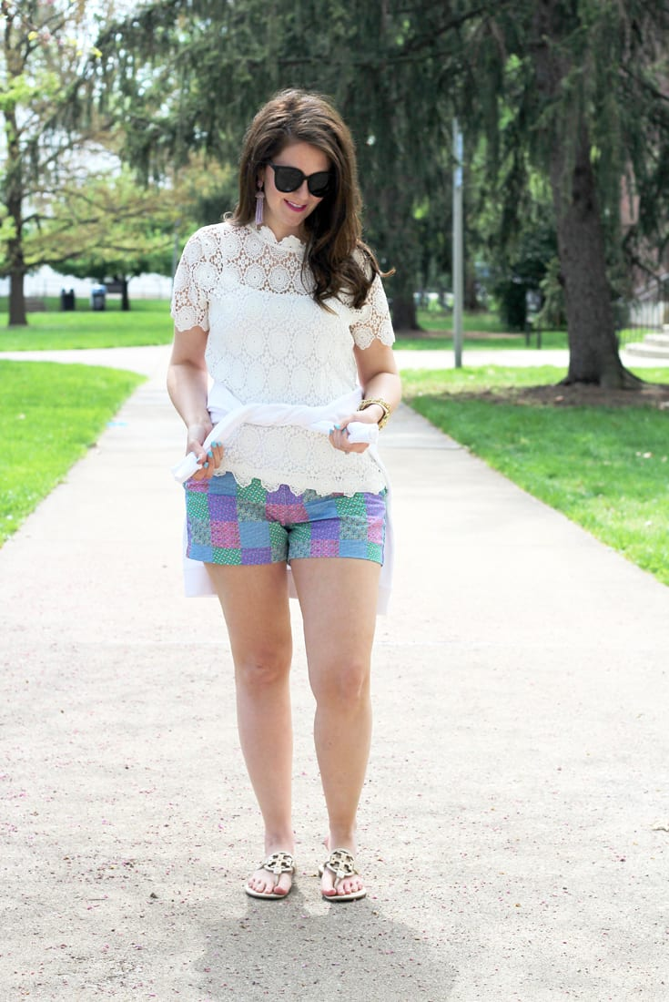 Casual Derby Day Outfit With Vineyard Vines GIVEAWAY
