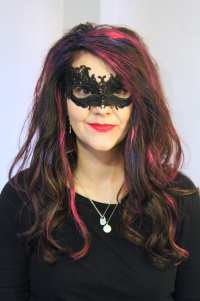 Halloween Hair Color: How to Temporarily Color Dark Hair ...