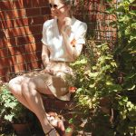 Vintage Style Blog: reproduction 1940s blouse | reproduction 1930s sport shorts | reproduction vintage flats