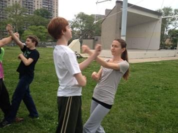 Wing Chun Training 2014 05 27_07