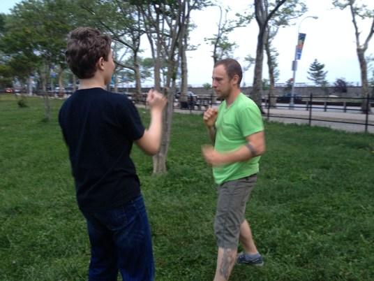 Wing Chun Training 2014 05 27_43