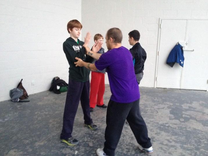 Wing Chun Training 2014 05 29_24