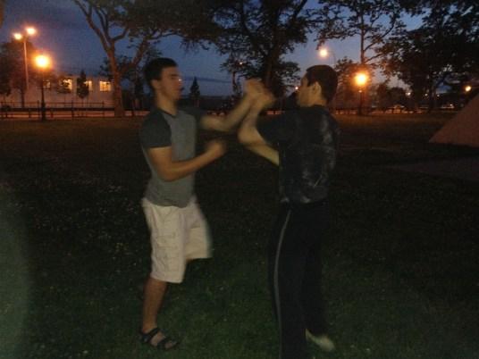 Wing Chun Training 2014 06 05_08
