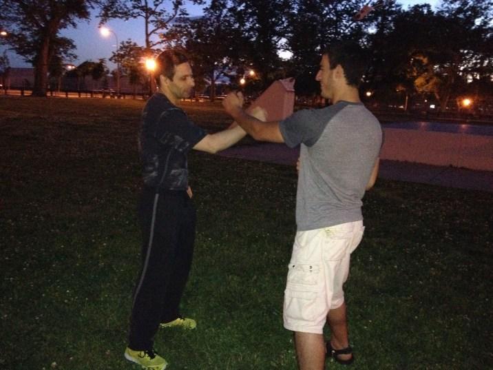 Wing Chun Training 2014 06 05_12