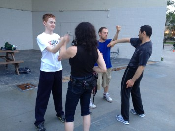 Wing Chun Training 2014 06 10_07