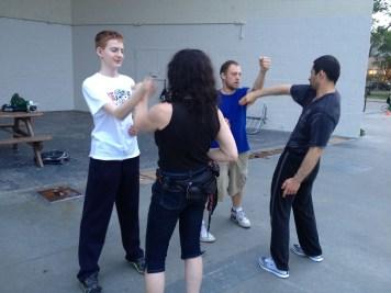 Wing Chun Training 2014 06 10_07