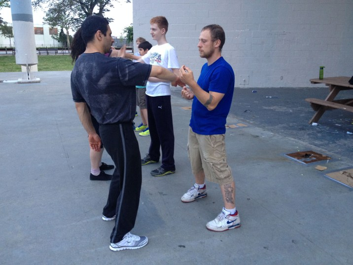 Wing Chun Training 2014 06 10_10