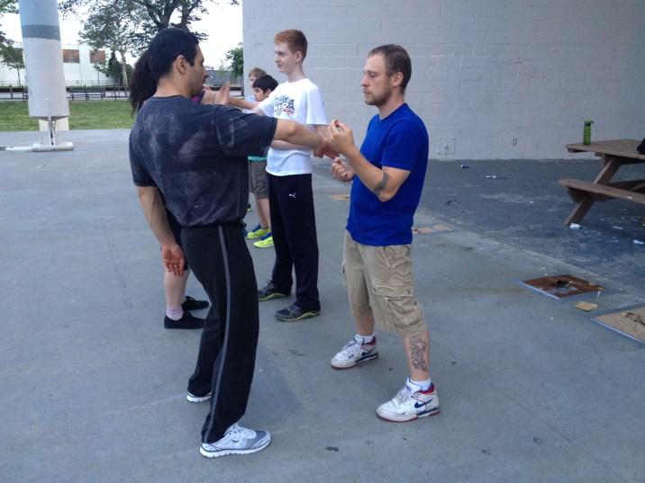 Wing Chun Training 2014 06 10_10