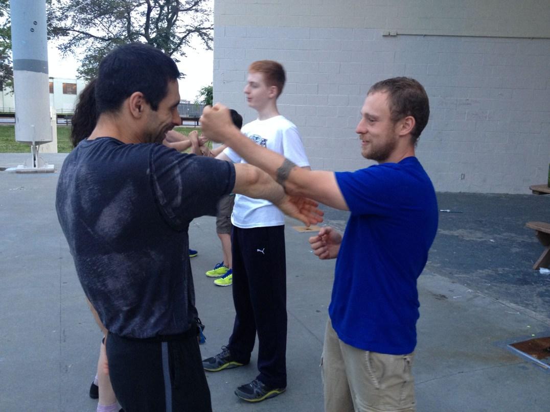 Wing Chun Training 2014 06 10_13