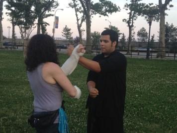 Wing Chun Training 2014 06 17_06