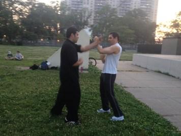 Wing Chun Training 2014 06 17_16
