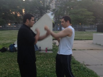 Wing Chun Training 2014 06 17_17