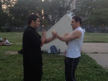 Wing Chun Training 2014 06 17_18