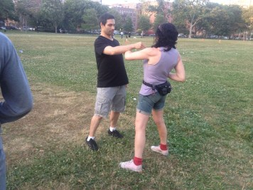 Wing Chun Training 2014 07 01_02