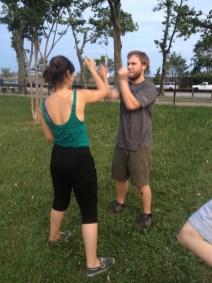 Wing Chun Training 2014 07 10_03