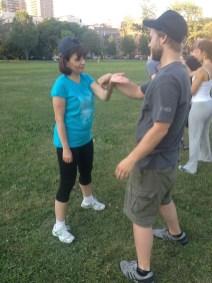Wing Chun Training 2014 07 17_02