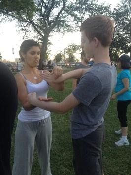 Wing Chun Training 2014 07 17_09