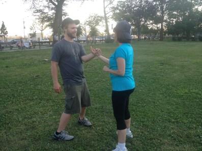 Wing Chun Training 2014 07 17_11