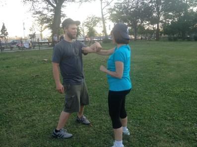 Wing Chun Training 2014 07 17_12