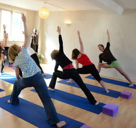 Jim's Yoga Class