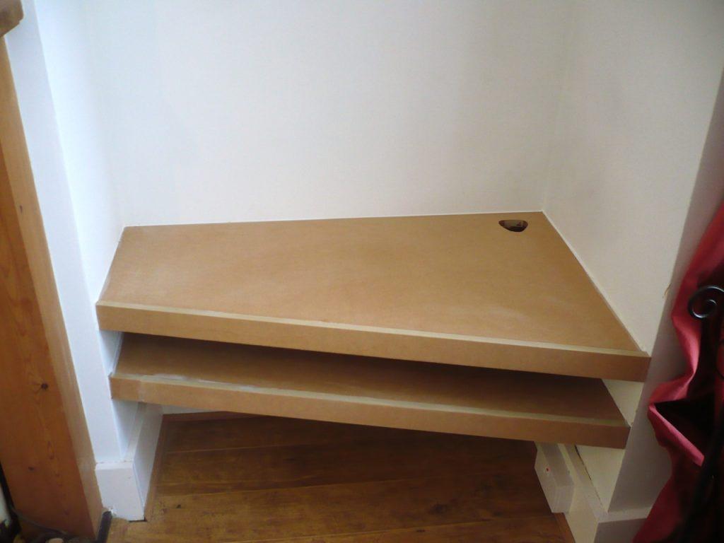 Simple alcove shelves  Richard Sothcott Brighton Carpentry