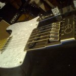 EverTune Bridge Fitted To Telecaster
