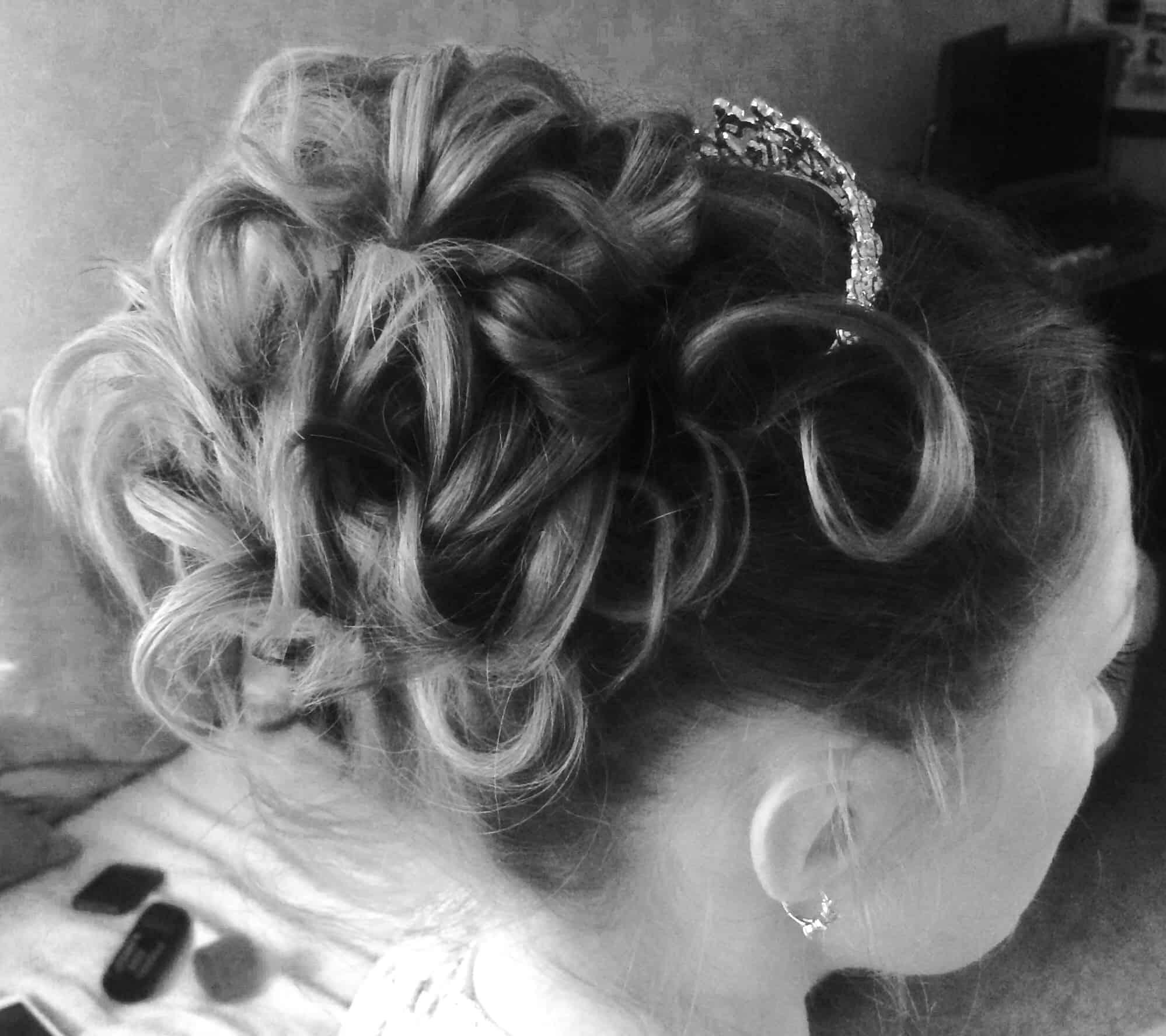 bridal hair course -