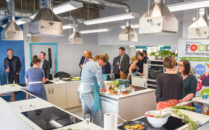 Brightons community kitchen is open  Brighton On The Inside
