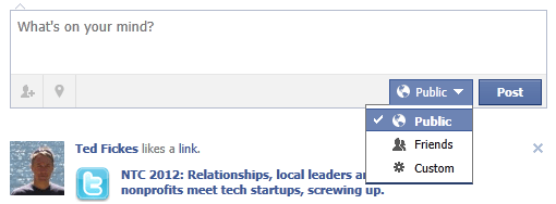 Control public Facebook posts
