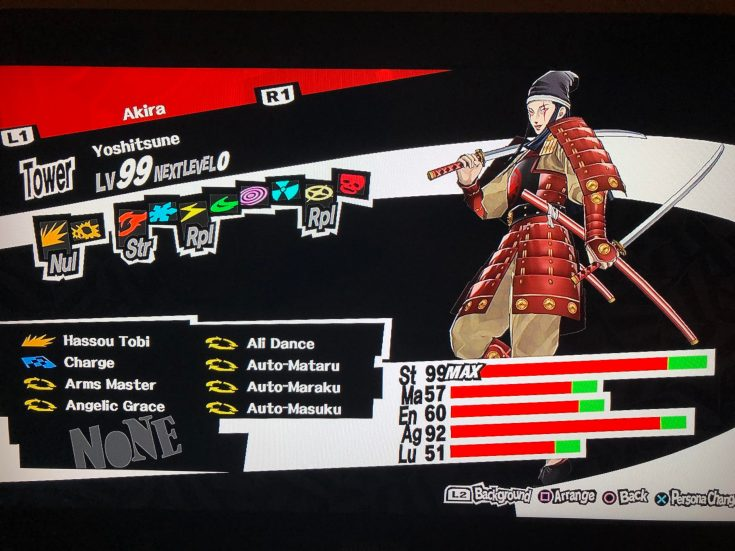best persona 5 personas yoshitsune