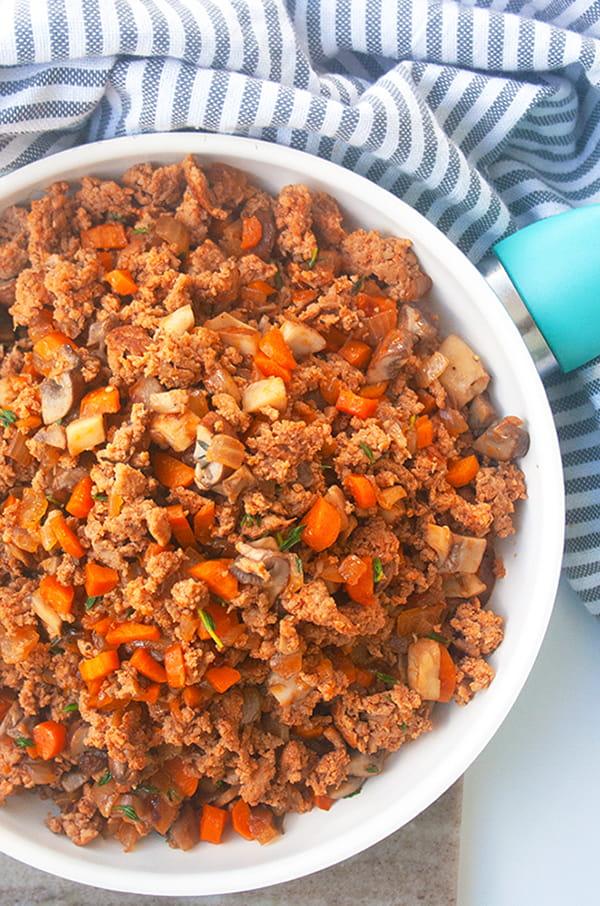 Sweet Potato Shepherd's Pie| brightrootskitchen.com
