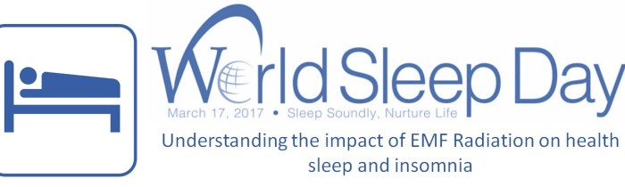 Understanding the impact of EMF Radiation on health, sleep and insomnia